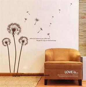 Wandtattoo Für Wohnzimmer : wandtattoo blumen ornament lila schwarz ~ Buech-reservation.com Haus und Dekorationen