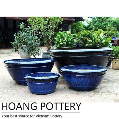 glazed ceramic planters glazed ceramic pots outdoor hpdb024 hoang pottery