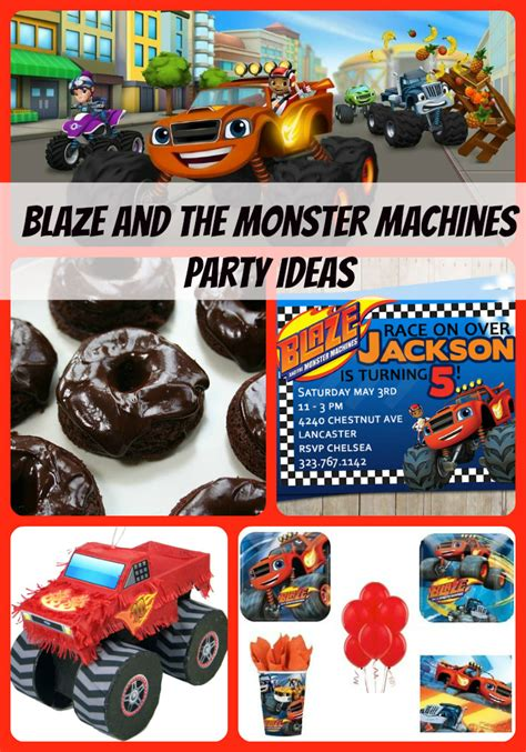 monster jam truck party supplies blaze and the monster machines birthday party supplies and