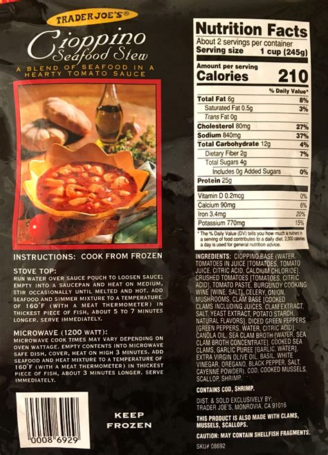 trader joes cioppino seafood stew review freezer meal