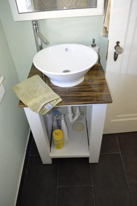 Do It Yourself Bathroom Ideas by An Updated Bathroom Vanity Do It Yourself Home Projects