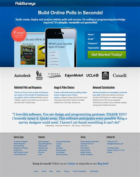 Beautiful Landing Page Design Examples Drool Over