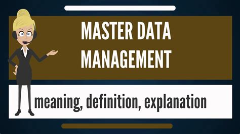 What Is Master Data Management? What Does Master Data