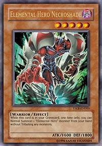 yu gi oh elemental necroshade ysdj en000 starter deck jaden yuki 1st