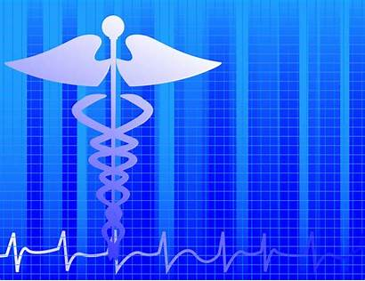 Medical Background Vector Caduceus Healthcare Wellness Ai