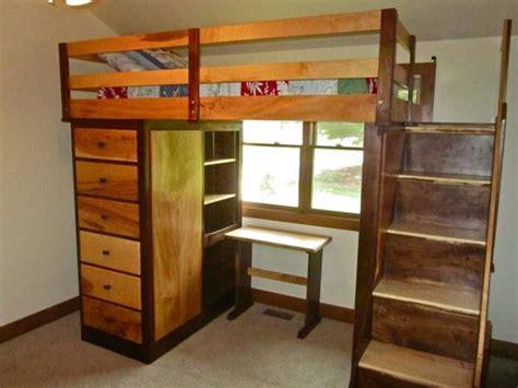 hand  nicholas bunk bed  drake woodworking