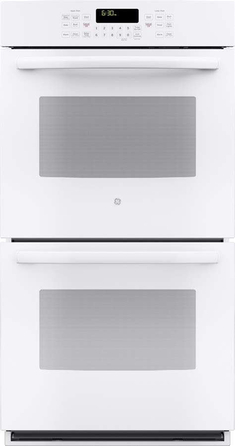 jkdfww ge  built  double convection wall oven white