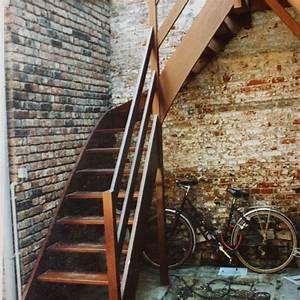 Antidérapant Escalier Bois : escalier bois ext rieur les ateliers du marais ~ Dallasstarsshop.com Idées de Décoration