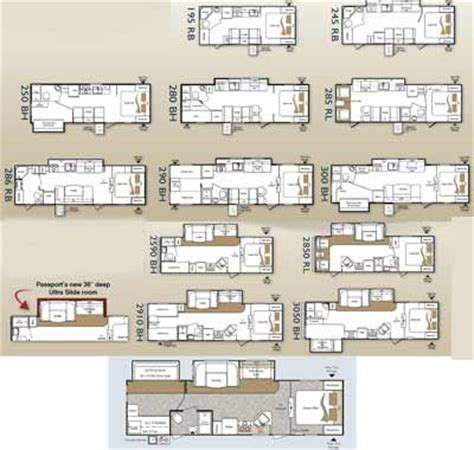 1999 Prowler Travel Trailer Floor Plans by Roaming Times Rv News And Overviews