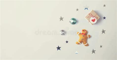 gingerbread ornaments stock image image  december