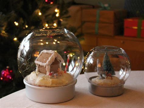 make an edible snow globe for the holidays hgtv s