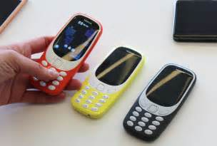new nokia phone the new nokia 3310 has finally arrived and the battery