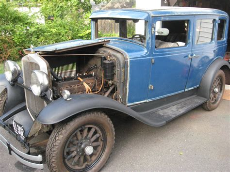 1930 Hupmobile Six Model S Sedan Unrestored Driving Barn