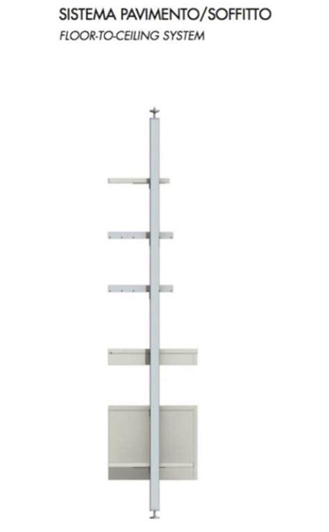 strutture per cabine armadio montanti per cabina armadio in alluminio