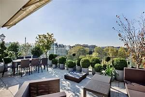 Terrasses En Vue : les 9 plus belles terrasses d 39 appartements parisiens ~ Melissatoandfro.com Idées de Décoration