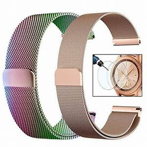 Cagos Mesh Loop Compatible With Galaxy Watch 42mm  Ticwatch