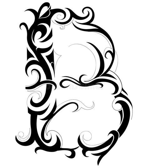decorative letter b decorative letter royalty free stock photos image 8102348 15692
