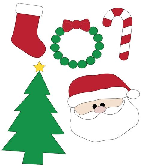 christmas decorations pictures to print 100 free printables for all related activities 2018