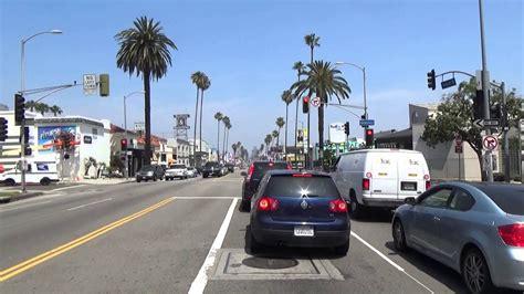 sunset boulevard drive  west hollywood youtube