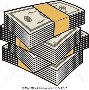 Stacks Of Money Clipart - Clipart Suggest