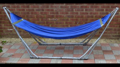 Travel Hammock With Stand by Suntogo Premium Foldable Hammock Stand Portable Travel