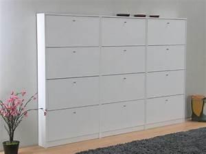 Schuhkipper 17 Cm Tief : schoenenkasten escape set van 3 wit mat 225x148x17 cm ~ Bigdaddyawards.com Haus und Dekorationen