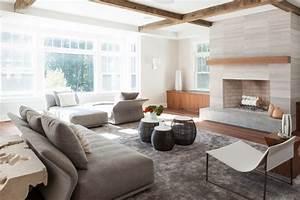 Salon Classique Chic : norwell residence classique chic salon boston par r me ~ Dallasstarsshop.com Idées de Décoration
