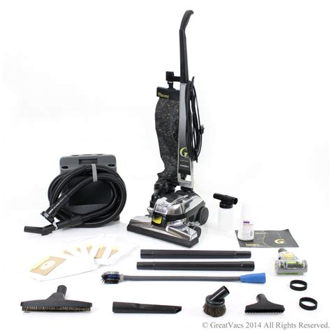 kirby vaccum reconditioned kirby gsix g6 upright vacuum new tools
