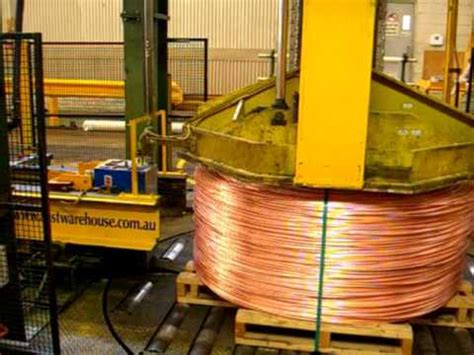 automatic strapping machine copper wire youtube
