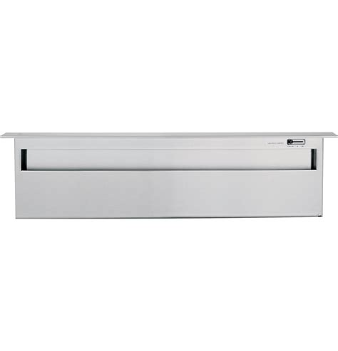 zvbsbss ge monogram  stainless steel telescopic downdraft vent hood monogram appliances