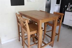 Chaise Pour Table Haute : meubles un art de vivre ~ Teatrodelosmanantiales.com Idées de Décoration