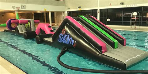 pool inflatable downham health leisure centre