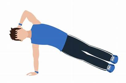 Plank Side Variations Types Core Exercise Figures