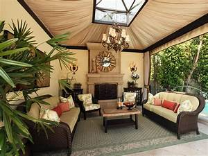 Photos hgtv for Outdoor living room pictures exterior