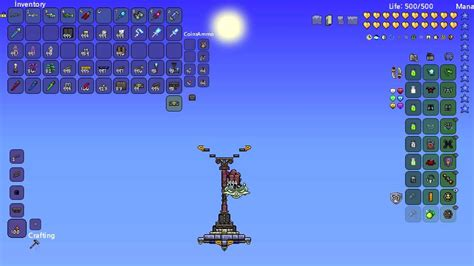 Terraria How To Make A Chandelier by Advanced Tp Glitch Banner Chandelier Lantern Floating