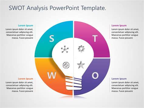 swot analysis powerpoint template  swot analysis