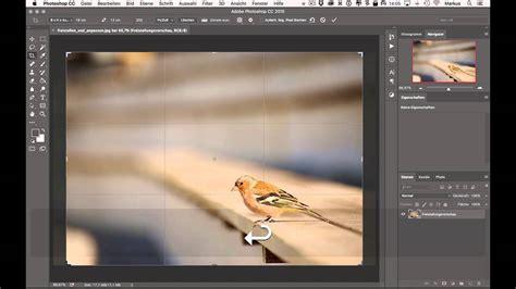 photoshop cc ws bilder auf groesse zuschneiden youtube