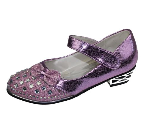 GIRLS DIAMANTE BRIDESMAID PARTY WEDDING SANDALS INFANTS ...