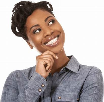 African Woman American Happy Smile Africans Hand
