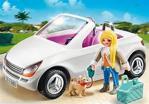 Voiture Cabriolet 4 Places : playmobil 5585 voiture cabriolet achat vente univers miniature soldes cdiscount ~ Gottalentnigeria.com Avis de Voitures
