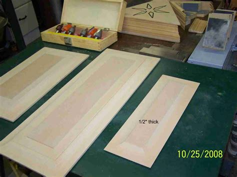 pass mdf raised panel doors bits router forums