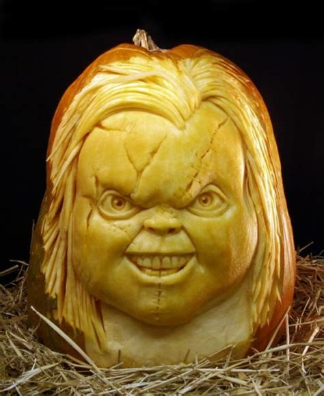awesome carved pumpkin seriously scary pumpkin carvings frikkin awesome