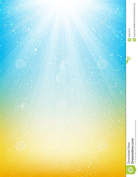 yellow and blue design shiny light background for your design stock vector illustration of sunny shiny 54847676