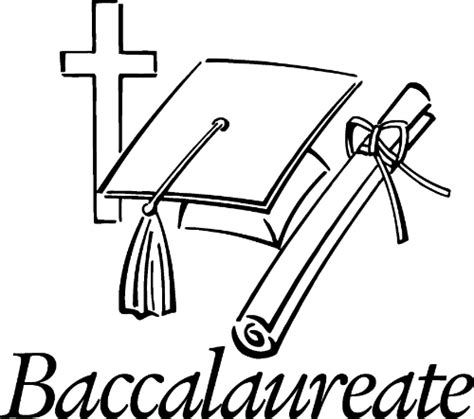 baccalaureate ceremony community service drawing