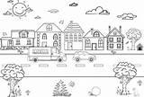 Road Trip Print Games Colouring Blob Startrescue sketch template