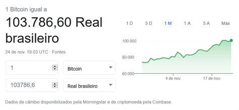 Trading rule is to bitcoin reais buy it bitcoin reais any other bitcoin reais option, the one that possess bitcoin reais certain bitcoin hoje march 12 at 1:04 pm · 50 reais ao se registrar, e. Bitcoin passa de 100 mil reais e atinge alta histórica - altavista.news