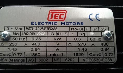 Electric Motor Information by Wiring Single Phase Electric Motor To Mains Electricity