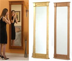 Full-Length Wall Mirror Woodworking Plan from WOOD Magazine