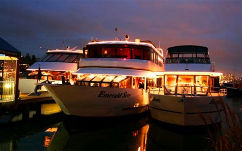 Seattle Evening Boat Tours by All Aboard For The Dinner Cruise Seattleite