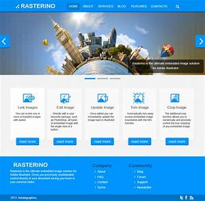 How to use Rasterino and Illustrator in web design